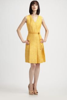 Akris Punto Silk Dress - Lyst