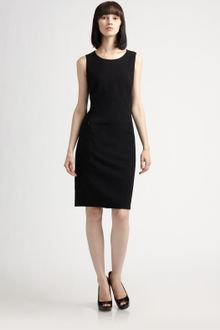 Akris Punto Wool Dress - Lyst