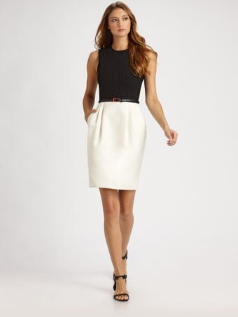 Jason Wu Belted Dress - Lyst