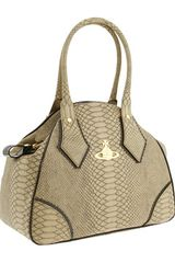 Vivienne Westwood Handbag made of snake-embossed leather.  - Lyst