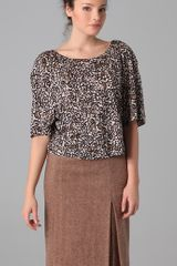 Marc By Marc Jacobs Cordosa Print Top - Lyst