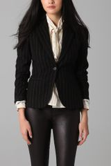 McQ by Alexander McQueen Chevron Tail Jacket - Lyst