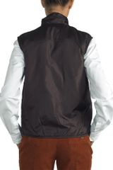 Aspesi Jillina _ Quilted Vest in Nylon in Black (brown) - Lyst