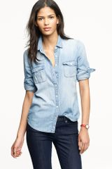 J.Crew Keeper Chambray Shirt