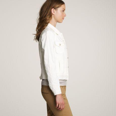 White Washed Denim Jacket Nolita White Denim Jacket