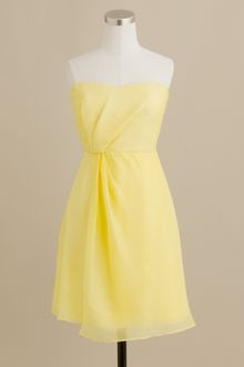 J.Crew Leona Dress in Silk Chiffon - Lyst