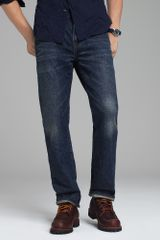 J.Crew Vintage Slim-fit Jean in Indigo Medium Worn Wash - Lyst
