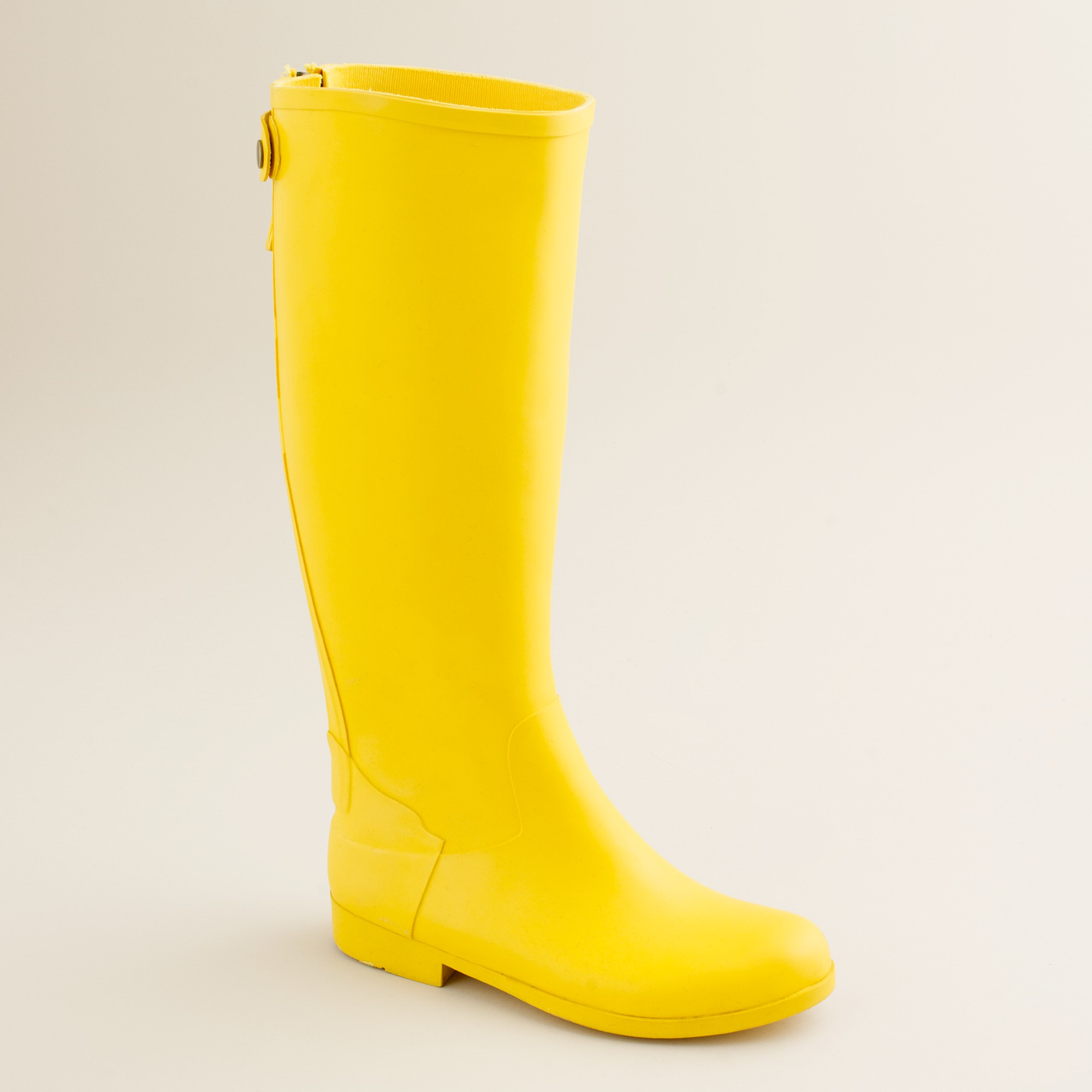 J Crew Weatherby Rain Boots In Yellow Warm Mustard Lyst