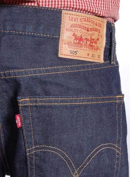 Levis 505 Regular Fit Men S Jeans