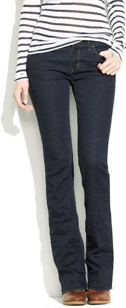 Madewell Bootlegger Jeans In Wash in Blue (madewell wash denim) - Lyst