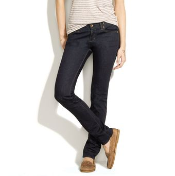 Madewell Rail Straight Jeans In Wash - Lyst