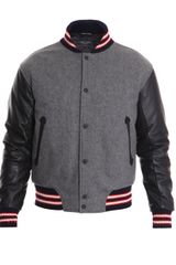 Rag & Bone Wool Bomber Jacket - Lyst