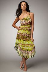 Jean Paul Gaultier Printed Skirt/dress Coverup - Lyst