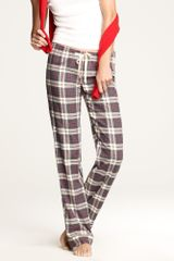 J.Crew Flannel Pajama Pant in Plaid - Lyst