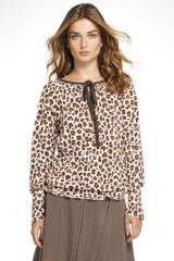 Tory Burch Darlene Top - Lyst