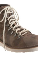 Co-op Barneys New York Camo Hiking Boot - Lyst