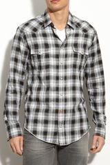 Hugo Boss Boss Edaonee Plaid Western Shirt - Lyst