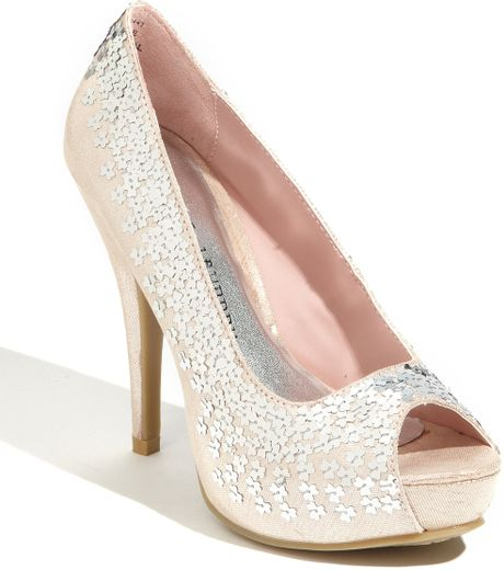 Chinese Laundry Harvest Moon Pump in Pink (blush) - Lyst