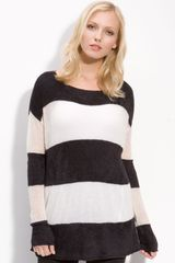 DKNY Stripe Sweater - Lyst