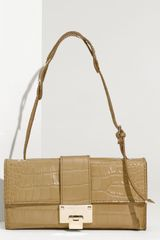 Jimmy Choo Baguette Shoulder Bag - Lyst