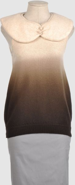 Manoush Sleeveless Sweater in Brown (beige) - Lyst