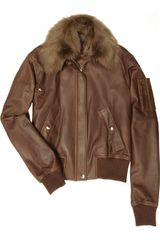 Ralph Lauren Collection Nelson Shearling and Leather Jacket - Lyst