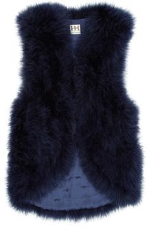 Haute Hippie Marabou Feather Vest - Lyst