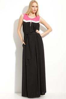 Jay Godfrey Cezanne Colorblock Maxi Dress - Lyst