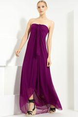 Jean Paul Gaultier Tulle Halter Maxi Dress - Lyst