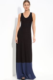 Vince Colorblock Maxi Dress - Lyst