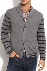 Brooks Brothers Shawl Neck Cardigan - Lyst