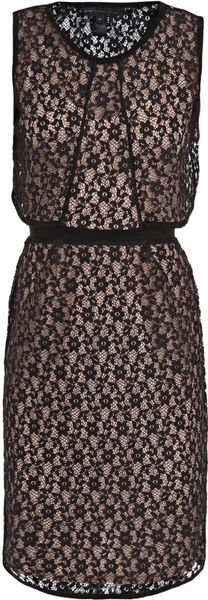 Marc By Marc Jacobs Sleeveless Lace Dress - Lyst