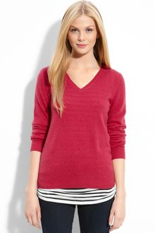 Only Mine V-neck Cashmere Sweater - Lyst