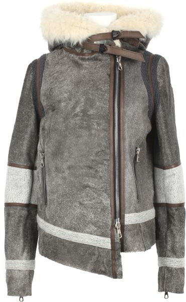 Rag & Bone Shoreditch Hooded Jacket In Brown