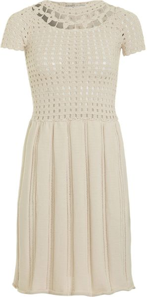 Rodarte x Opening Ceremony Open Knit Dress - Lyst