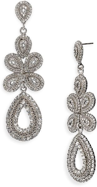 Tasha Ornate Linear Earrings - Lyst