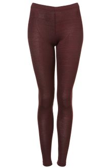 Topshop Space Dye Textured Leggings - Lyst