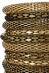Asos Collection Asos Xl Metal Bracelet Pack in Gold - Lyst