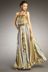 Lanvin Maxi Dress - Lyst