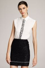 Marc Jacobs Eyelashtweed Skirt in Black - Lyst