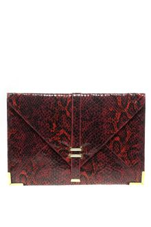 ASOS Collection Asos Slot Through Portfolio Clutch - Lyst