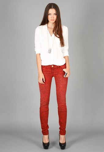 Current/Elliott Current/elliott Boa Ankle Skinny - Lyst