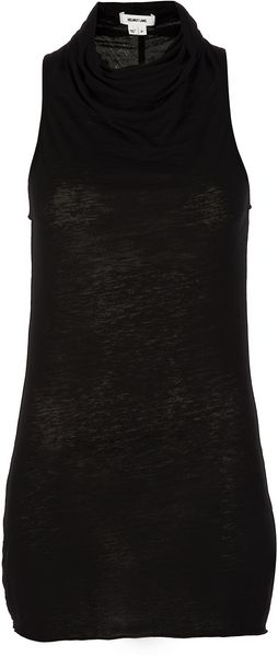 Helmut Lang Sleeveless Top - Lyst