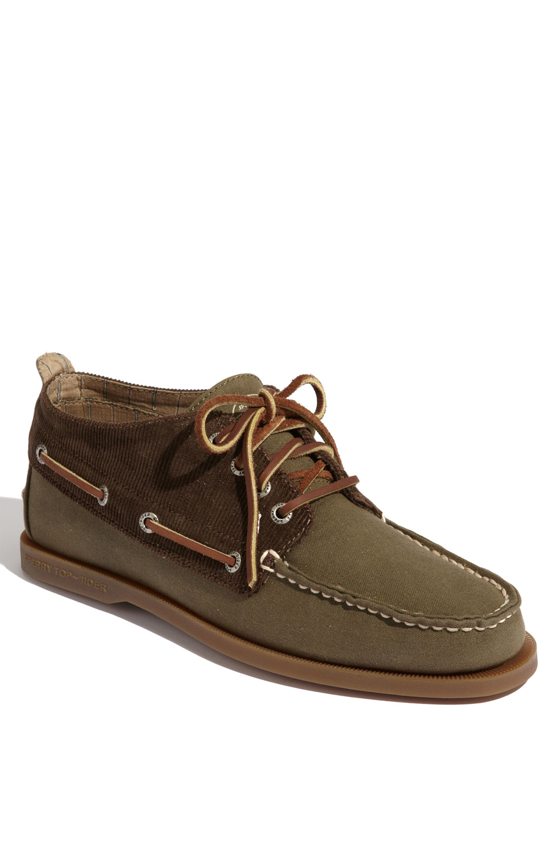 Sperry Top Sider Authentic Original Chukka Boot In Green