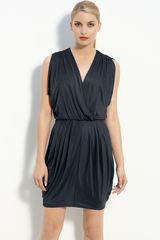 Black Halo Jill Jersey Minidress - Lyst