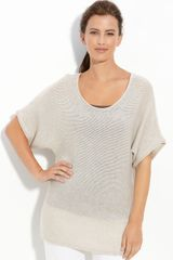 Eileen Fisher Scoop Neck Top (petite) - Lyst