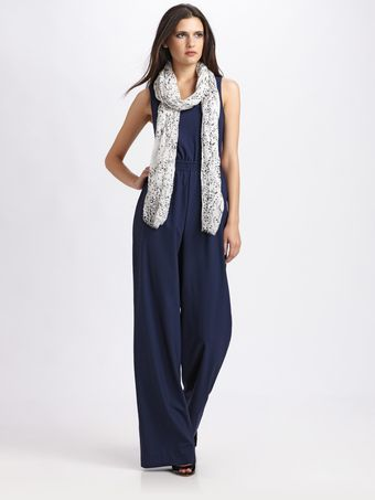 Yigal Azrouel Wool Jumpsuit - Lyst