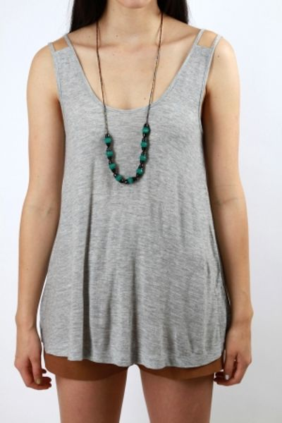 Antipodium Lounger Vest in Gray (grey) - Lyst