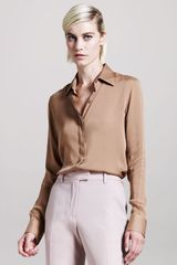 Maison Martin Margiela Button-down Blouse - Lyst