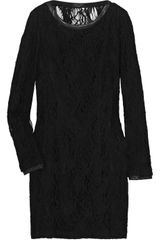 Rag & Bone Shelia Lace and Leather Dress - Lyst
